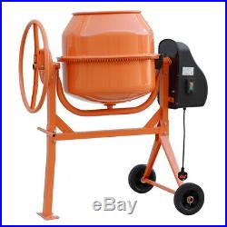 140 Litre Electric Small Animal Feed Mixer Cement Concrete Mortar Plaster Mixing