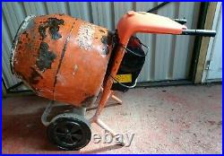 Belle 110V Electric Cement Concrete Mixer. Good Working Order