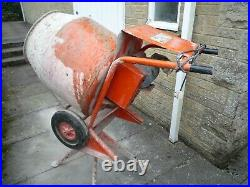 Belle 240V Electric Concrete Cement Mixer with stand