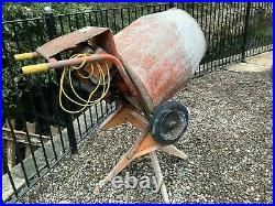 Belle Minimix 150 240V Electric Concrete Cement Mixer with Stand Good Condition