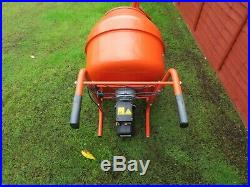 Belle Minimix 240V Electric Concrete Cement Mixer With Stand Hardly Used