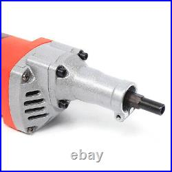 Concrete Cement Sand Mixer With Water Pipe Electric Mixer for Construction 1850W