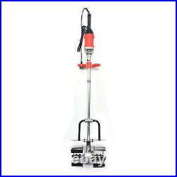 Electric Concrete Cement Sand Mixer With Water Pipe Mixer for Construction 1850W