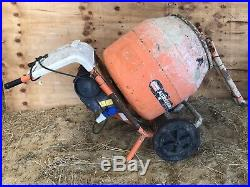 From Use Belle 150 240V Electric Concrete/Cement Mixer (Minor Repair) INCL STAND